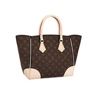 Tagre™ Authentic Louis Vuitton Monogram Canvas Phenix MM Bag Handbag Article: M41540 Made in France