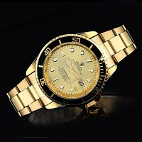 Rolex Ladies Men Fashion Quartz Watches Wrist Watch