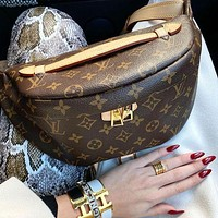 Louis Vuitton LV Hot Selling Classic Zipper Waist Bag Fashionable Men and Women Handbags Shoulder Messenger Bags