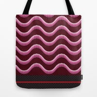 Sequins and Snakes Tote Bag by Octavia Soldani