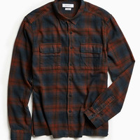 UO Tarmac Trucker Flannel Button-Down Shirt - Urban Outfitters