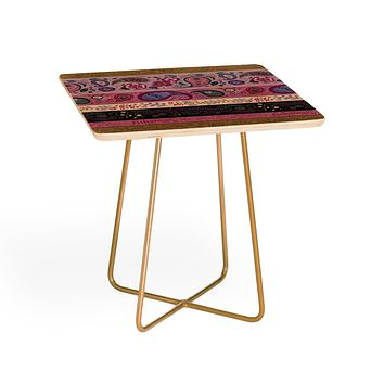 Pimlada Phuapradit Paisley and floral stripes Side Table