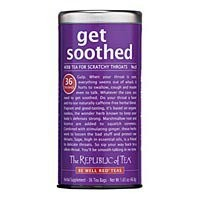 get soothed® - No. 8 Tea for Scratchy Throats