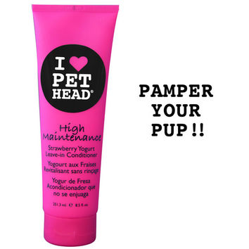 High Maintenance Leave-In Conditioner | Pet Head
