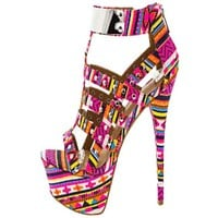 Women's  Aztec Guardian High Heel Pumps