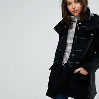 Gloverall Exclusive Duffle Coat With Detachable Hood at asos.com