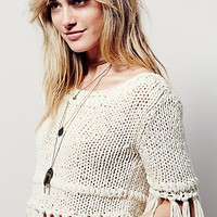 Free People On The Fringe Pullover