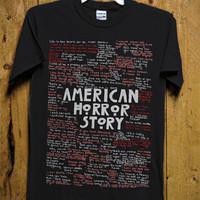 American Horror Story Typography T-Shirt - American Horor T-Shirt - Typography Design for Men T-Shirt (Various All Color Available)