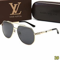 Louis Vuitton LV Trending Men Summer Sun Shades Eyeglasses Glasses Sunglasses 3#