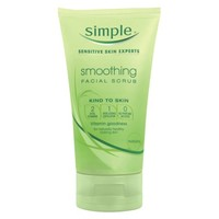 Simple Smoothing Facial Scrub - 5 fl oz