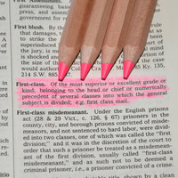 Eco Highlighters Pink Pencils 4 Pack