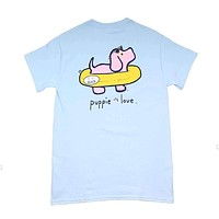 Inner Tube Pup Tee by Puppie Love