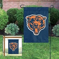Chicago Bears Applique and Embroidered Mini Garden/Window Flag