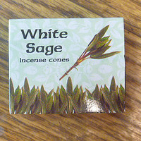 White Sage Incense Cones hippie fragrance wicca cleansing