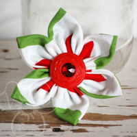 Christmas Party snowflake style hair clip from VioletsBuds