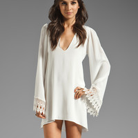 STONE_COLD_FOX Boardwalk Dress in White