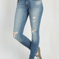 90s Skinny Start Your Saturday Jeans