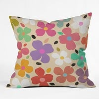 Garima Dhawan Dogwood Vintage Throw Pillow