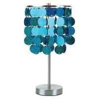 Target : Paillette Table Lamp - Turquoise : Image Zoom