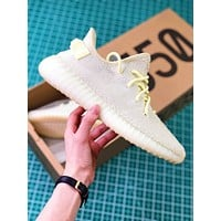 Adidas Yeezy Boost 350 V2 White Sport Running Shoes