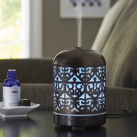 Better Homes and Gardens Essential Oil Diffuser, Moroccan Scroll - Walmart.com