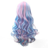 70cm Long Ombre Cosplay Wigs