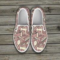 Hair Salon Slip Ons