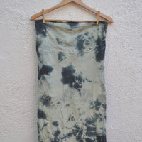 Made To Order Custom Hand Dyed Pencil Skirts Mini by SewRed