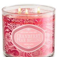 3-Wick Candle Cranberry Pear Bellini