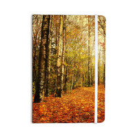 """Sylvia Cook """"Autumn Leaves"""" Rustic Everything Notebook"""