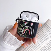 APE MONOGRAM AIRPODS CASE