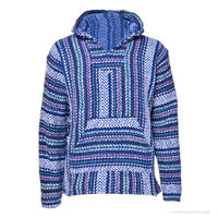 Rhythm & Blues Baja Hoodie Indigo on Sale for $19.99 at The Hippie Shop