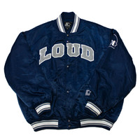 VERY RARE Vintage 90s Loud Records Starter Jacket Mens Size XXL