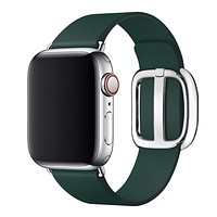 Classic Genuine Leather Apple Watch Band