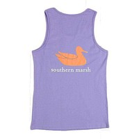Authentic Tank in Lilac Purple by Southern Marsh