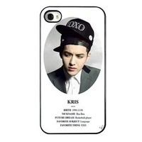 KPOP EXO MEMBER XOXO IPHONE4 CASE (KRIS)