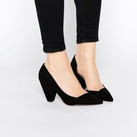 ASOS SAPPHIRE Wide Fit Pointed Heels at asos.com