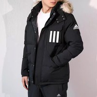 DCCK2 457 Adidas Men's Thickened Thermal Cotton Clothing Outdoor Cotton Clothing Coat