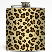 Animal Print - Cheetah Flask
