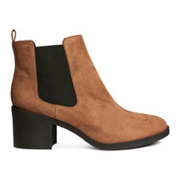 H&M Heeled Chelsea Boots $34.99