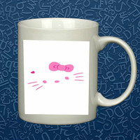 hello kitty   Mug, Quote Mug, Beyonce Mug, Ceramic Mug, typography, Beyonce Quote, Cup Mug 'AP""