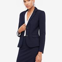 Seasonless Stretch Two Button Perfect Blazer | Ann Taylor