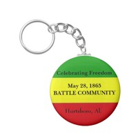 Celebrating May 28th Key Ring