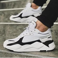 PUMA RS-X TOYS Popular Men Casual Running Sport Jogging Shoes Sneakers White