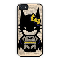 Hello Kitty Batman Custom Poster iPhone 5/5S Case