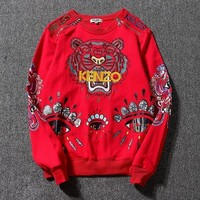 One-nice™ Kenzo Women Man Fashion Sport Casual Top Sweater Pullover