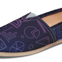 Math Chart Casual Shoes