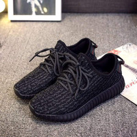 Black Unisex Running Shoes Sports Shoes