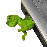 Handmade Gifts   Independent Design   Vintage Goods Dinosaur USB Flash Drive - For The Home