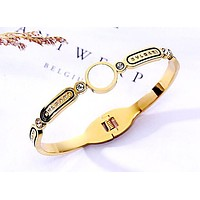 BVLGARI new simple fashion ladies bracelet gold